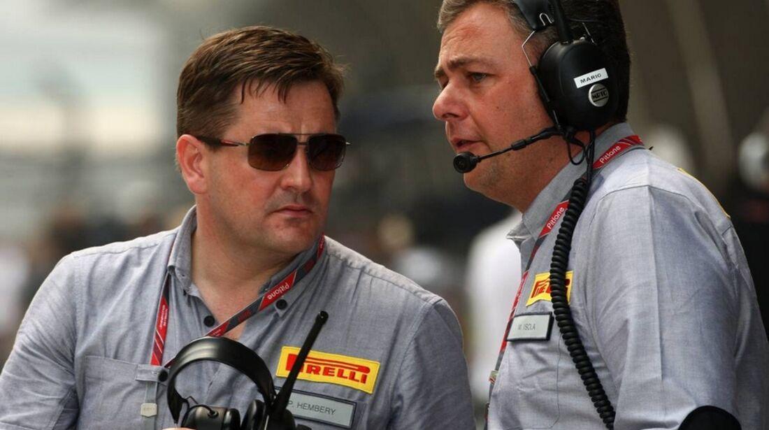 Pirelli Paul Hembery Formel 1 GP China 2011
