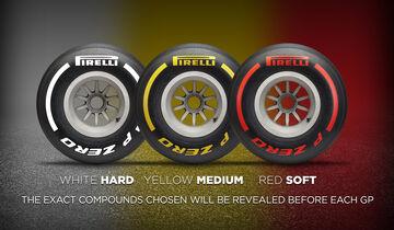 Pirelli-Reifen 2019 - Infografik