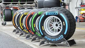 Pirelli-Reifen - Formel 1 - GP Brasilien - 22. November 2013