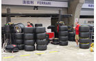 Pirelli-Reifen - Formel 1 - GP China - Shanghai - 17. April 2014