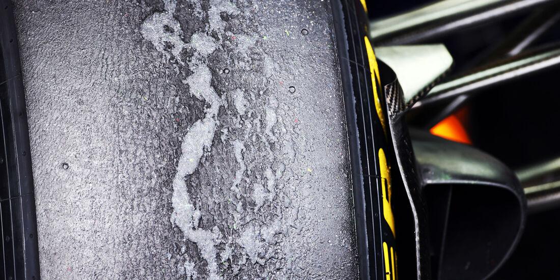 Pirelli-Reifen - Formel 1 - GP Deutschland - 5. Juli 2013