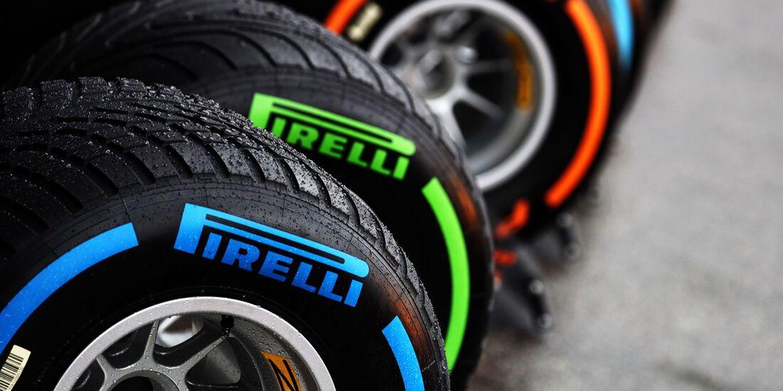 Pirelli Reifen - Formel 1 - GP Italien - 31. August 2018