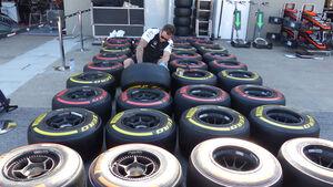 Pirelli-Reifen - Formel 1 - GP Kanada - Montreal - 4. Juni 2015