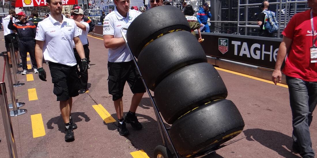 Pirelli-Reifen - Formel 1 - GP Monaco - 24. Mai 2012