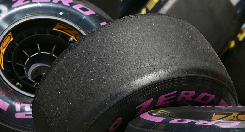 Pirelli-Reifen - Formel 1 - GP Russland - Sotschi - 29. April 2017