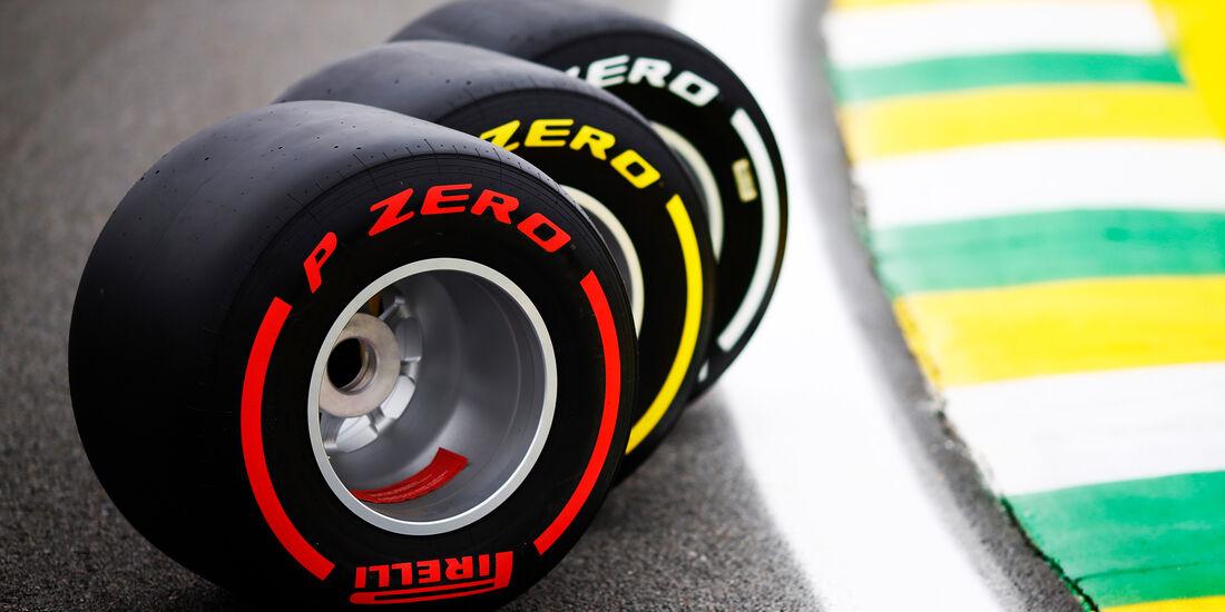 Pirelli-Reifen - GP Brasilien 2018