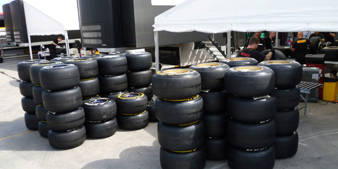 Pirelli-Reifen GP Europa 2011