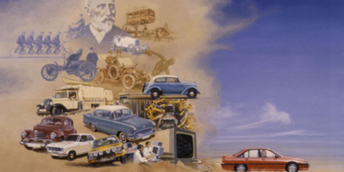 Plakat zum 125jährigen Jubiläum, 1987