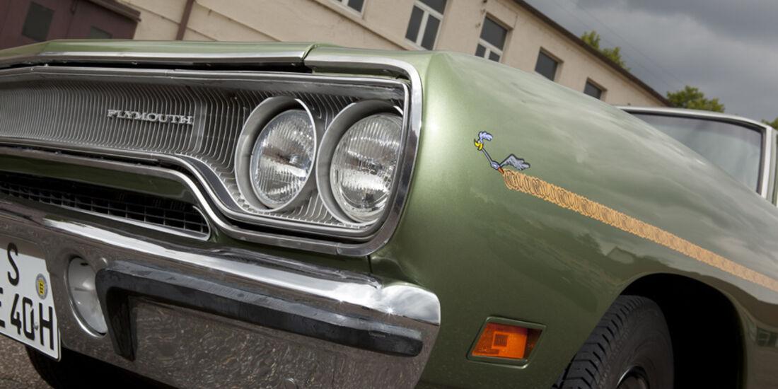 Plymouth Roadrunner 440, Frontscheinwerfer