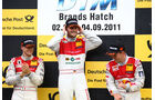 Podium DTM Brands Hatch 2011