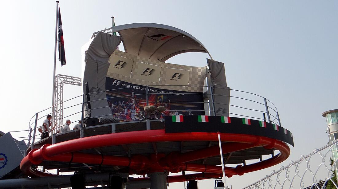 Podium - Formel 1 - GP Italien - Monza - 5. September 2013