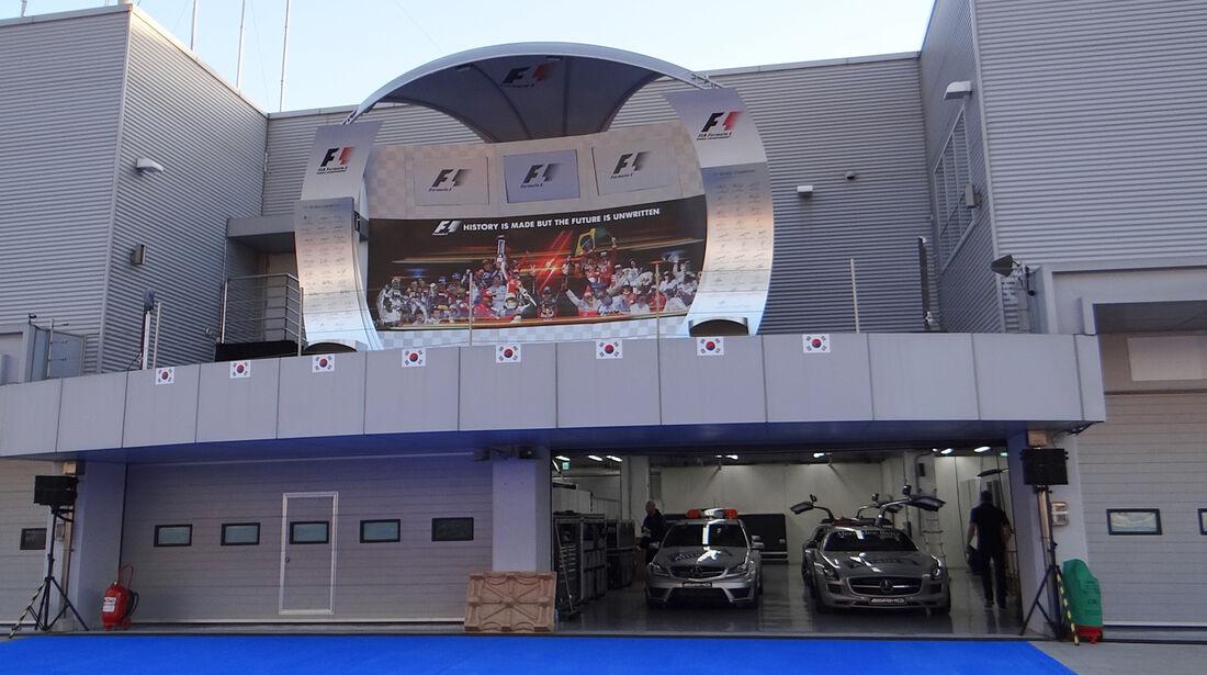 Podium - Formel 1 - GP Korea - 2. Oktober 2013