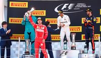 Podium - Formel 1 - GP Spanien - 14. Mai 2017