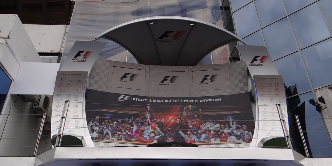 Podium - Formel 1 - GP Ungarn - 25. Juli 2013