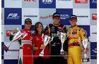 Podium - Formel 3 EM - Moskau 2014