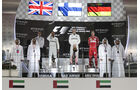 Podium - GP Abu Dhabi 2017