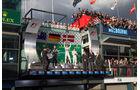 Podium - GP Australien 2014