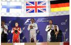 Podium - GP Bahrain 2015