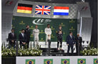 Podium - GP Brasilien 2016