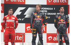 Podium GP Indien 2012