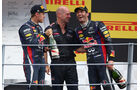 Podium - GP Italien 2013