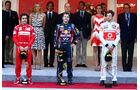 Podium GP Monaco 2011