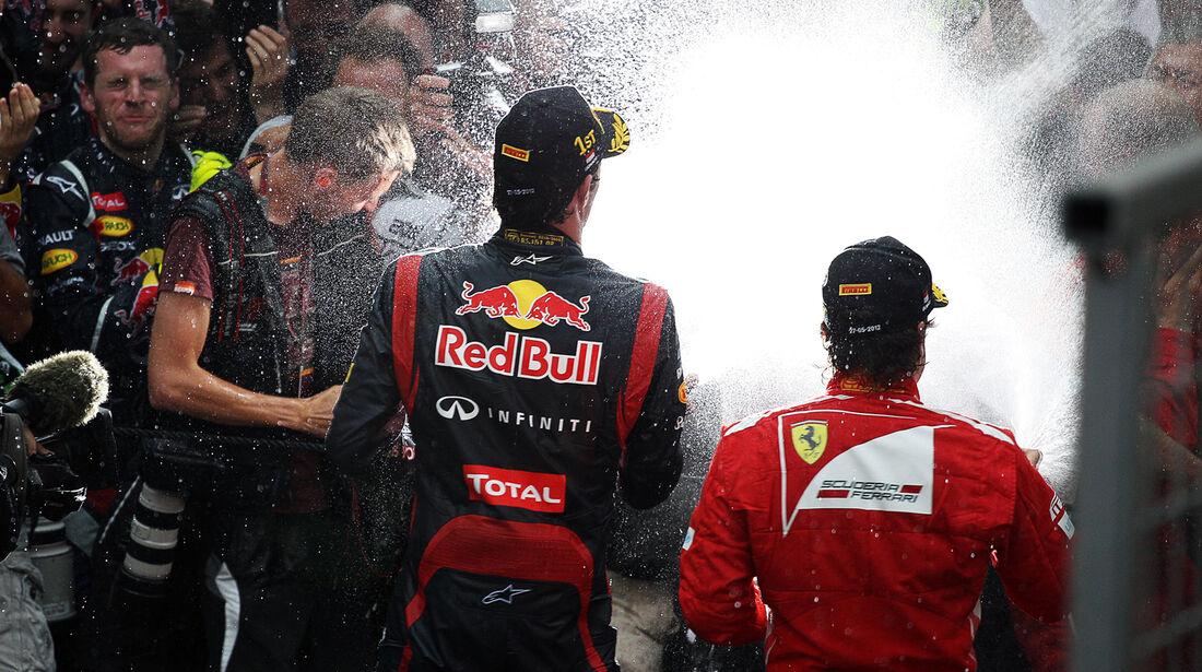 Podium - GP Monaco 2012