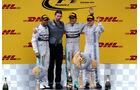 Podium - GP Österreich 2014
