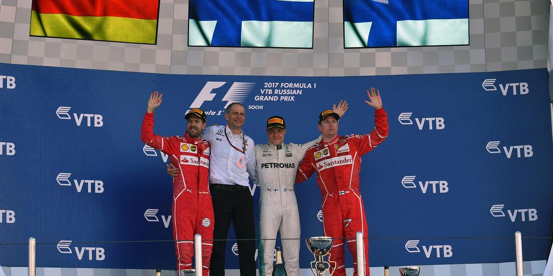 Podium - GP Russland 2017