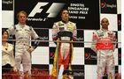Podium - GP Singapur 2008