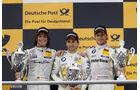Podium Hockenheim Finale DTM 2013