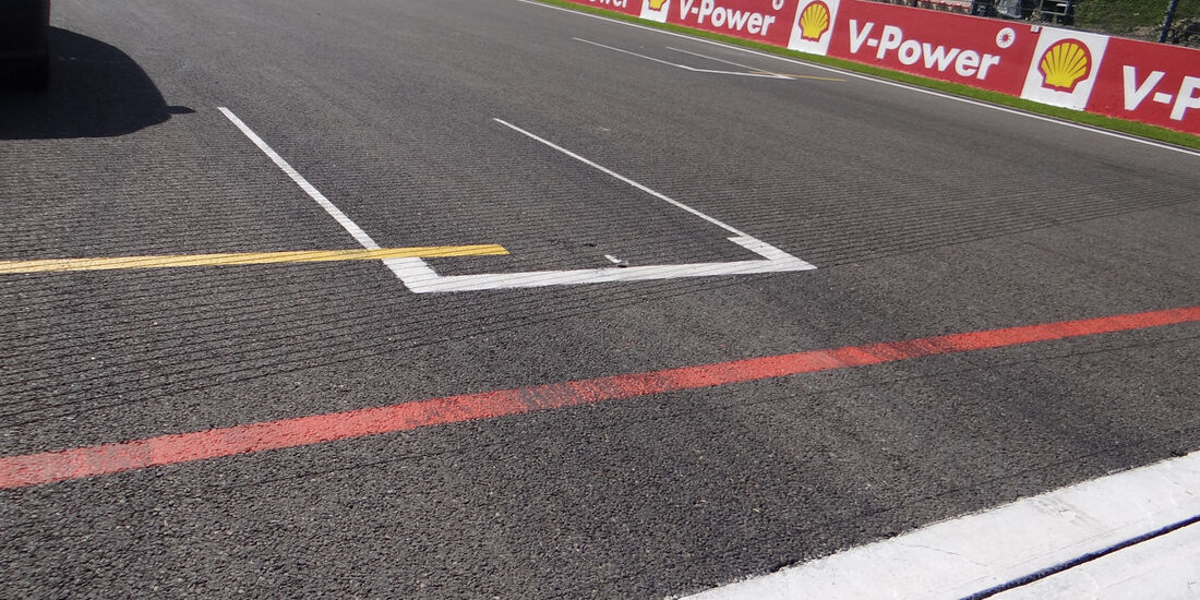 Pole Position - Formel 1 - GP Belgien - Spa-Francorchamps - 22. August 2013