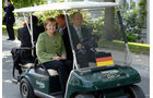 Politiker und ihre Dienstwagen, Merkel, Golfcart, Heiligendamm