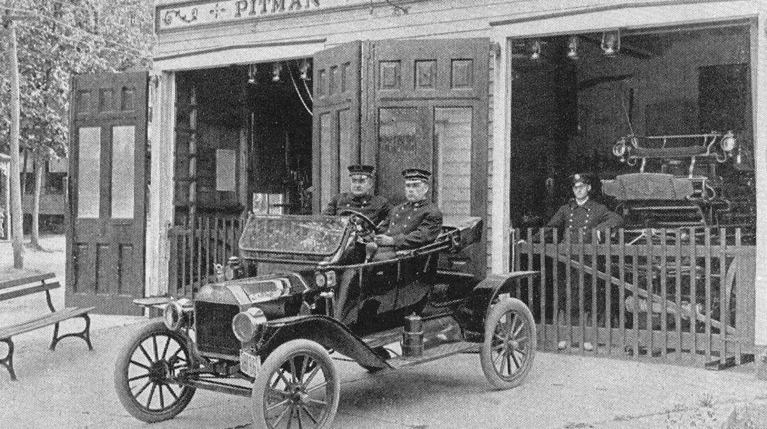Polizeiauto Ford Model T