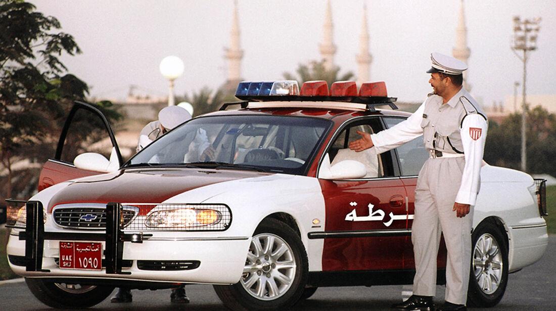 Polizeiauto Holden Caprice