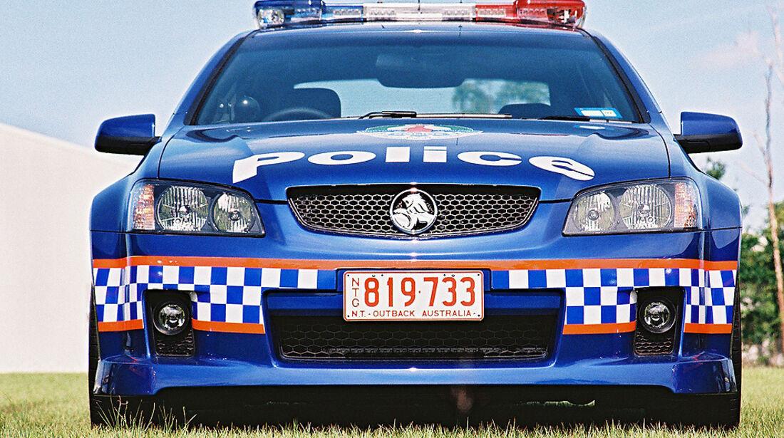 Polizeiauto Holden VE Commodore