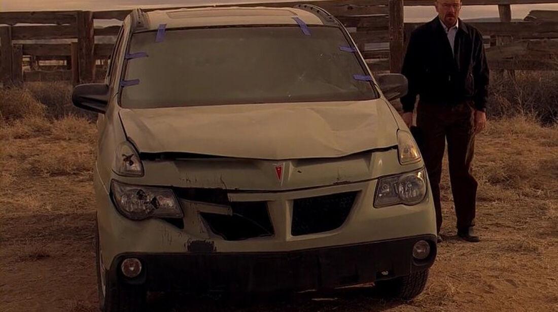 Pontiac Aztek, Breaking Bad, Walter White