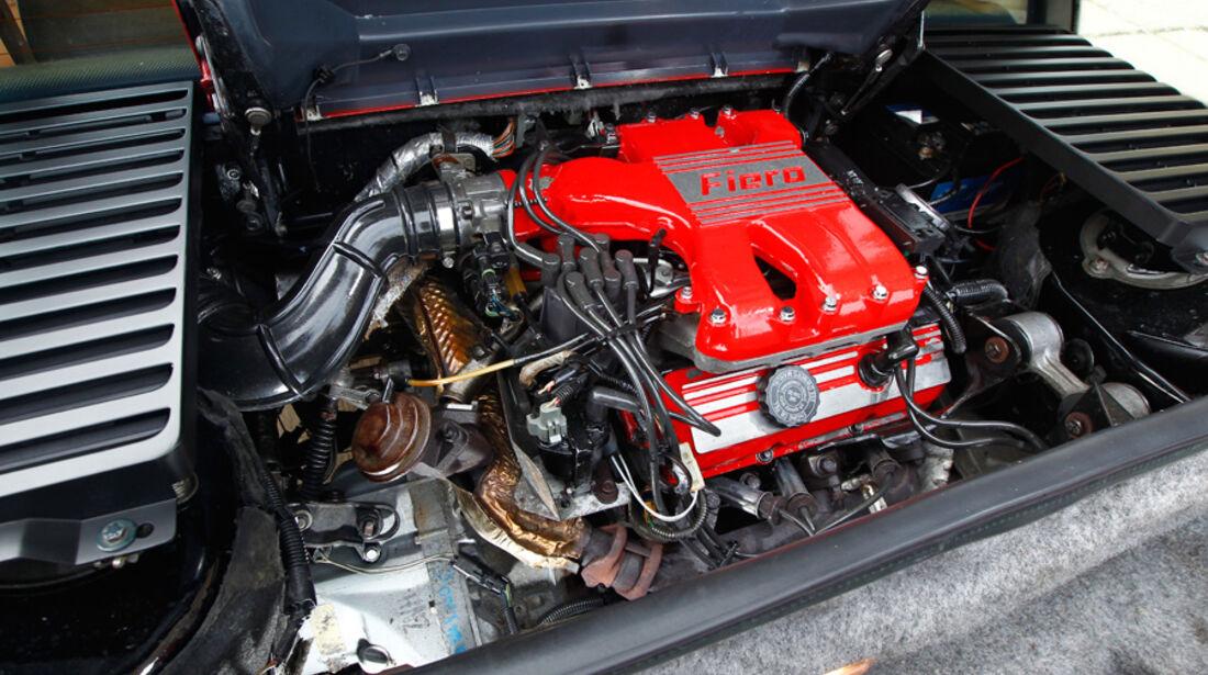 Pontiac Fiero GT, Motor