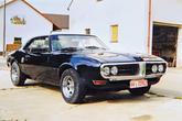 Pontiac Firebird 400 Coupe Serie 223, Frontansicht