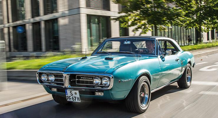 Pontiac Firebird 400, Frontansicht