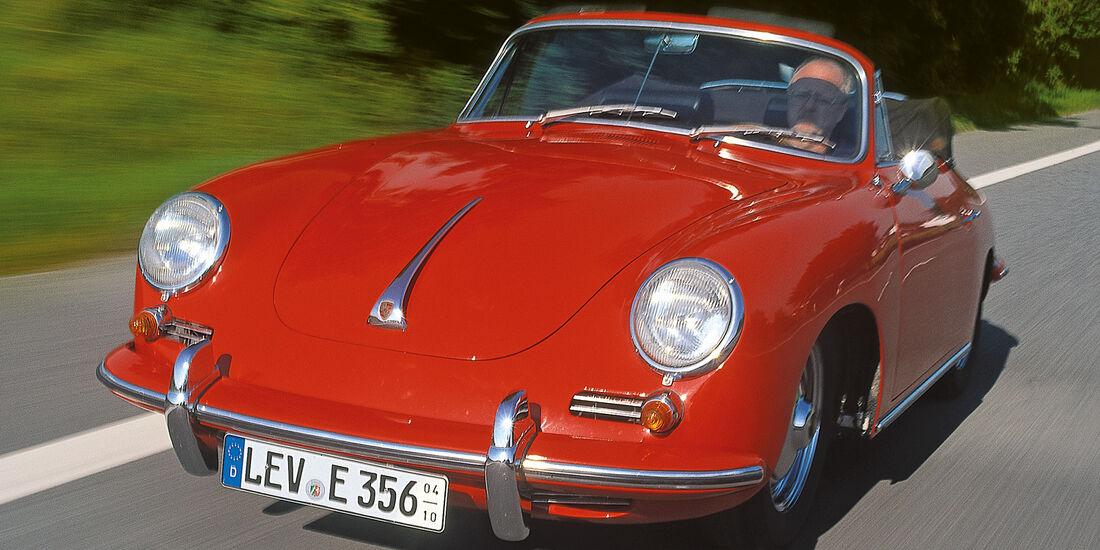Porsche 356 , Frontansicht