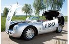 Porsche 550 Spyder, Seitenansicht