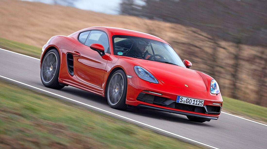 Porsche 718 Cayman GTS - Serie - Coupes bis 100000 Euro - sport auto Award 2019