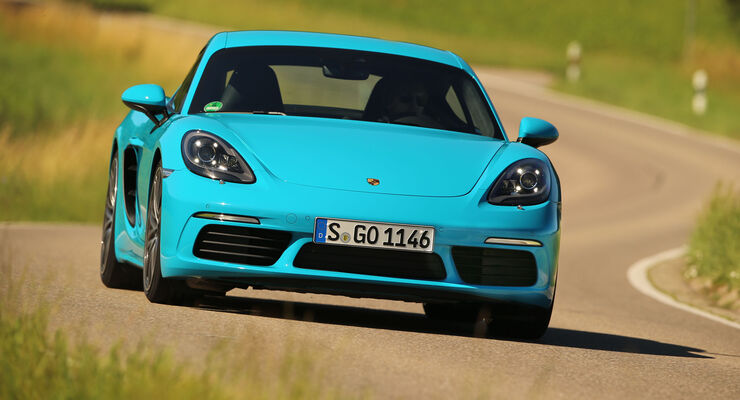 Porsche 718 Cayman S, Fahrbericht, 07/2016