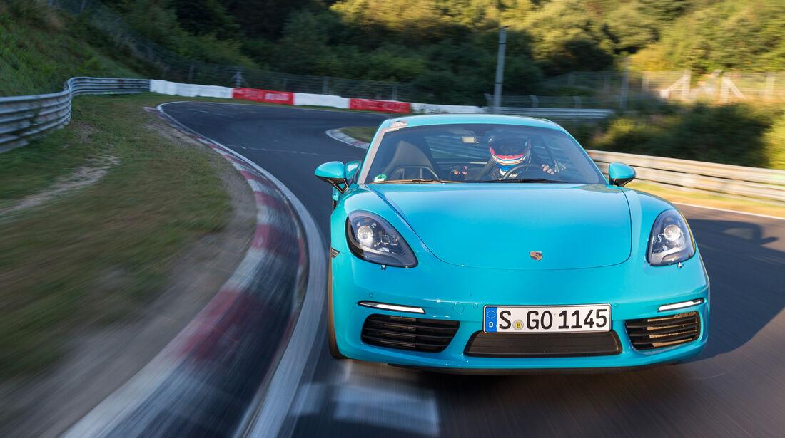 Porsche 718 Cayman S, Frontansicht