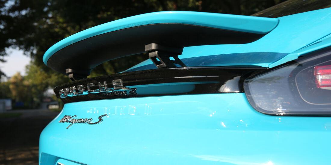 Porsche 718 Cayman S, Heckspoiler