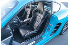 Porsche 718 Cayman S, Sitze