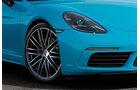 Porsche 718 Cayman Sperrfrist 25.4.2016