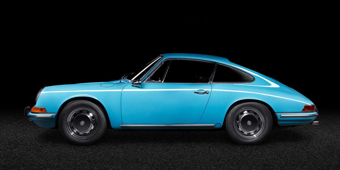 Porsche 911, 1967, verantwortlicher Designer Ferdinand Alexander Porsche, Leihgeber Peter Br�uer, Foto Oliver Sold.jpg