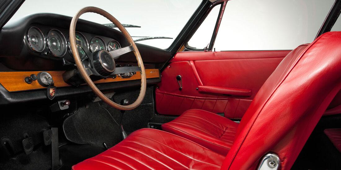 Porsche 911 2.0 Coupé (1964) - Sportwagen - Lenkrad - Innenraum